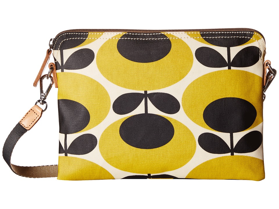 Orla Kiely - Travel Pouch (Mustard) Cross Body Handbags