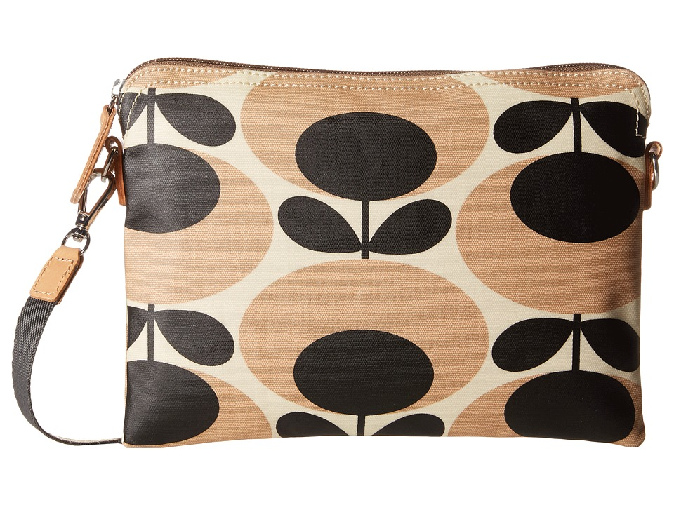 Orla Kiely - Travel Pouch (Nude) Cross Body Handbags