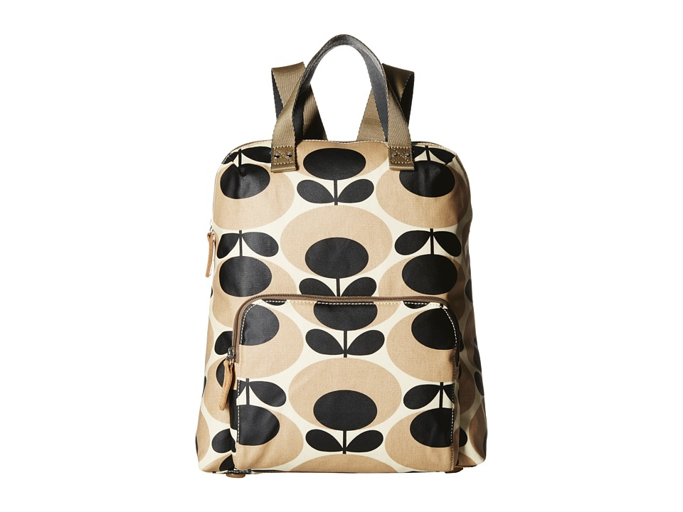 Orla Kiely - Backpack Tote (Nude) Backpack Bags