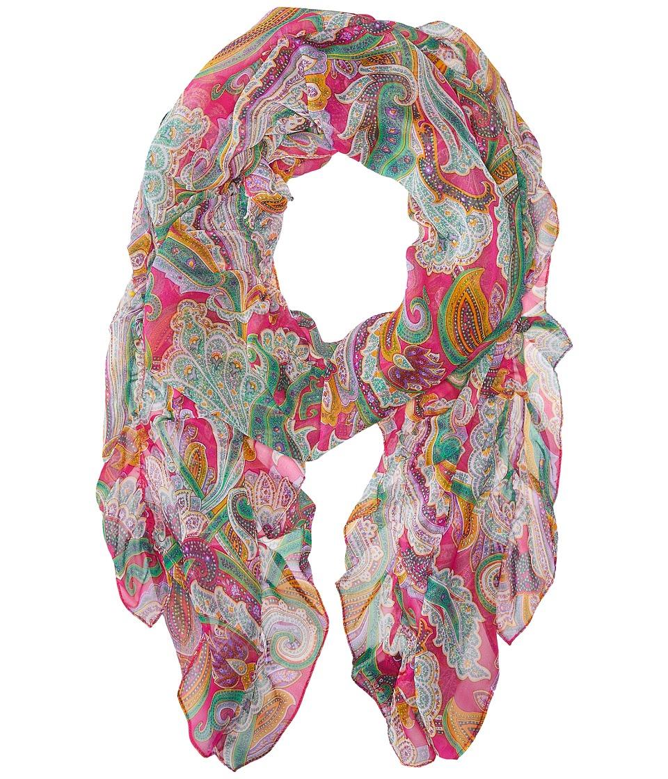 LAUREN Ralph Lauren - Nidia Scarf (Exotic Pink) Scarves