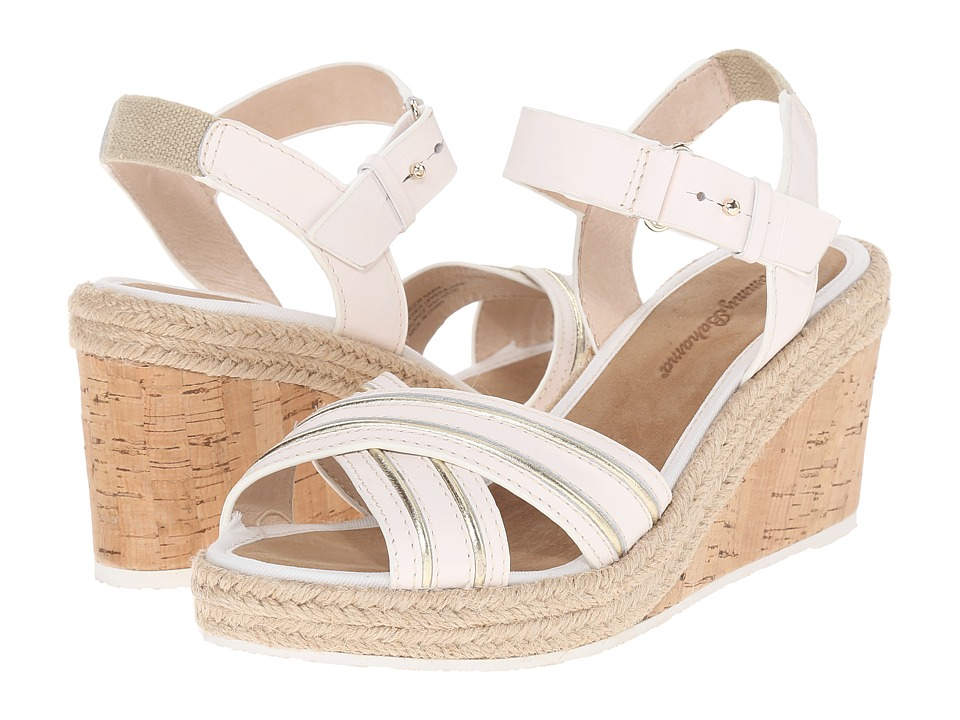 Tommy Bahama - Naira (White/Gold) Women's Wedge Shoes