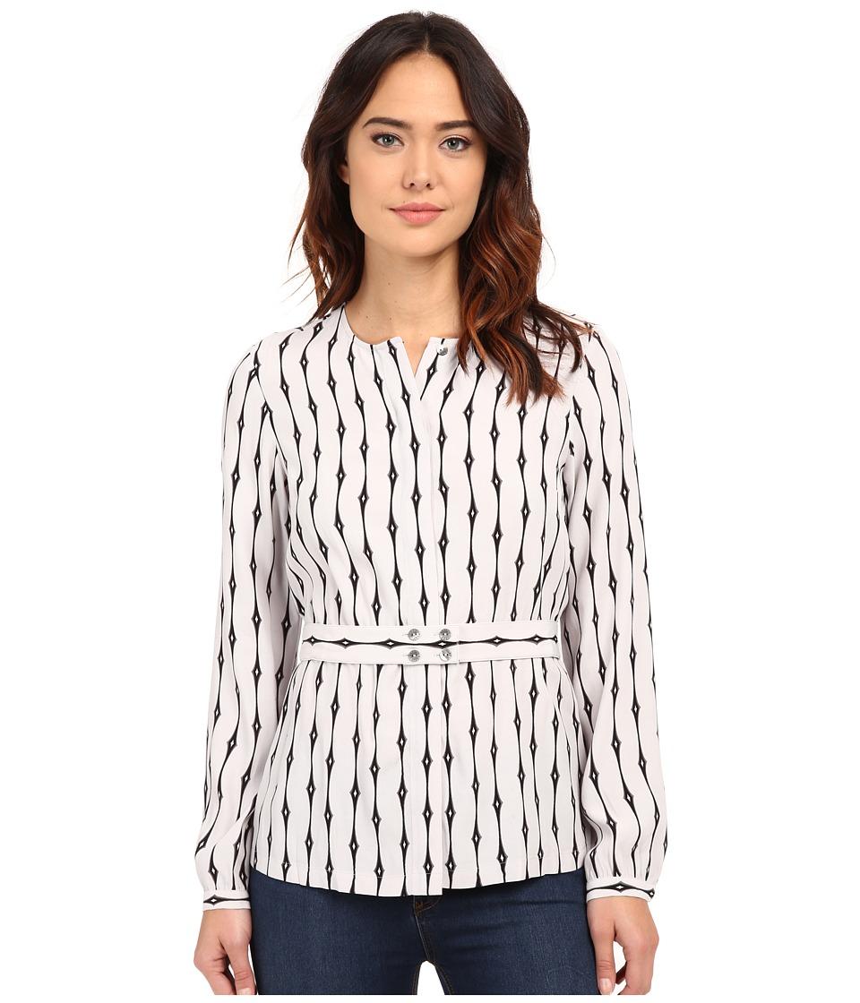 Pendleton - Uptown Blouse (Geo Stripe Print) Women's Blouse