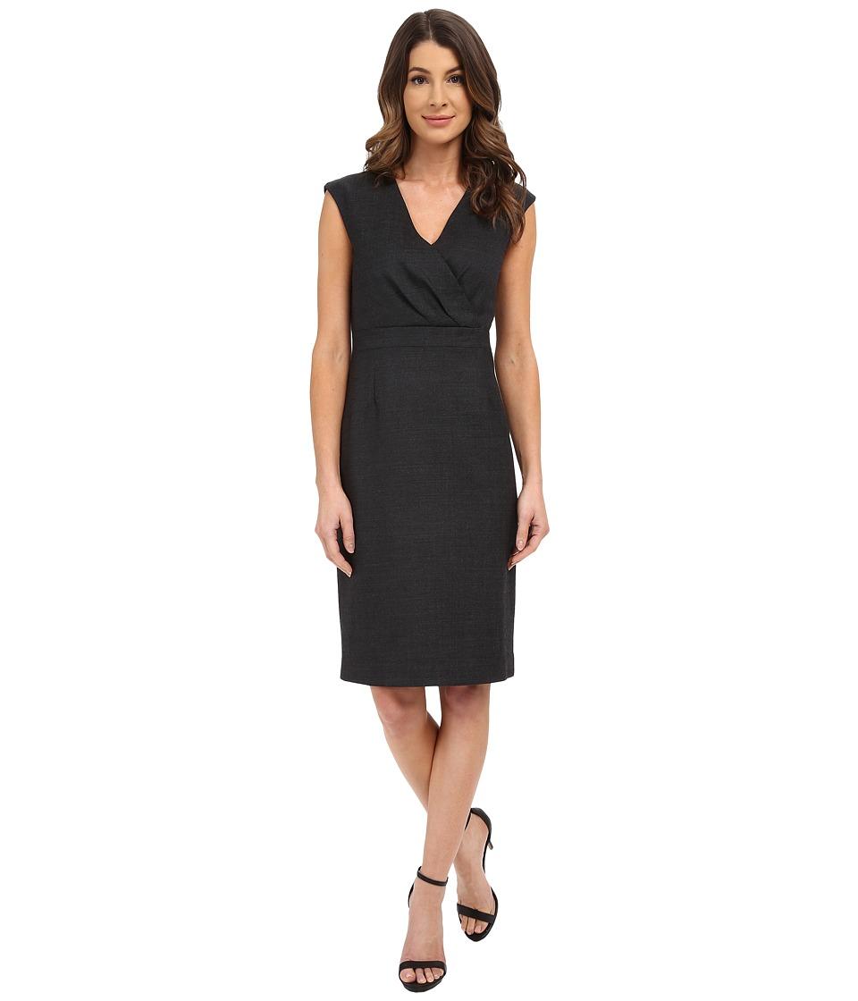 Pendleton Kylee Dress (Black Novelty Worsted) Women