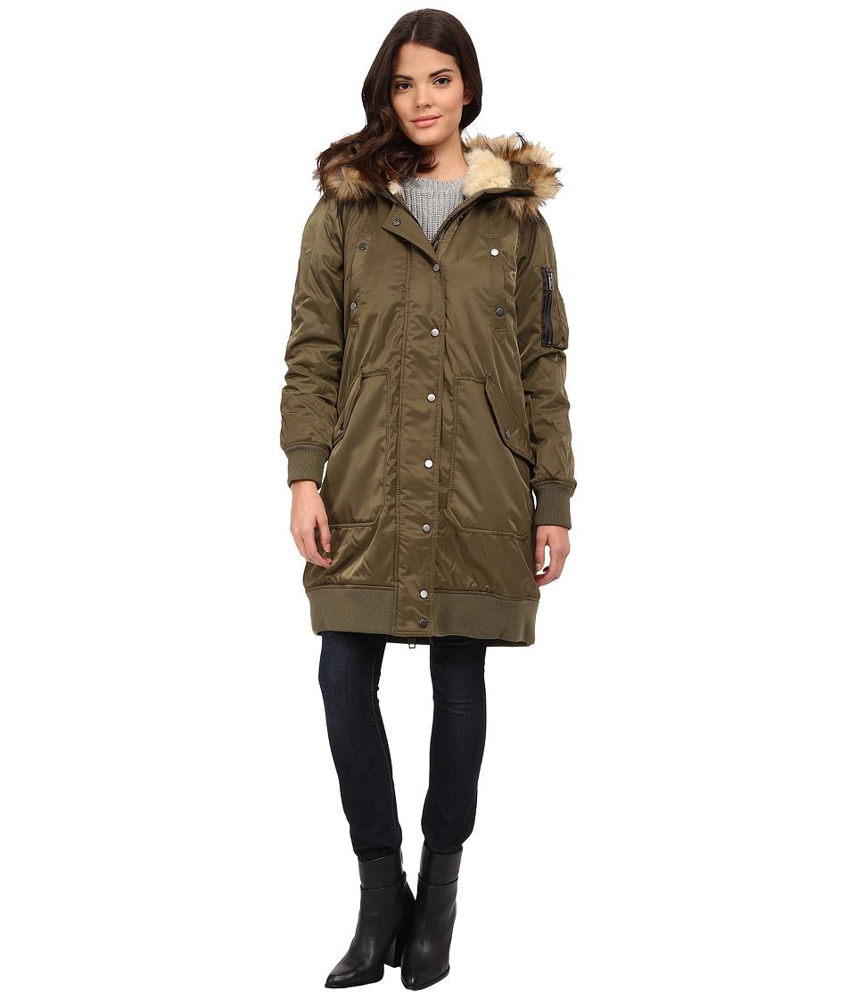 Diesel - W-Pury Jacket (Olive/Green) Women's Coat