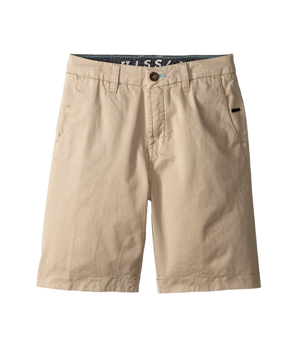 VISSLA Kids - No See Ums (Big Kids) (Chino) Boy's Shorts