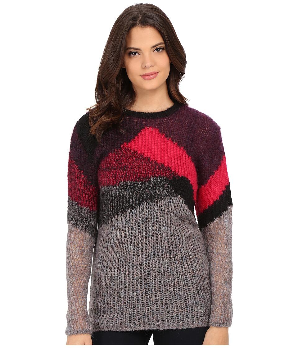 Diesel - M-Ronson Sweater (Light/Grey) Women's Sweater