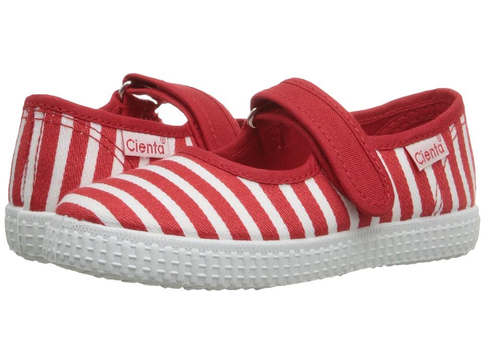 Cienta Kids Shoes - 56095 (Infant/Toddler/Little Kid/Big Kid) (Red) Girl's Shoes