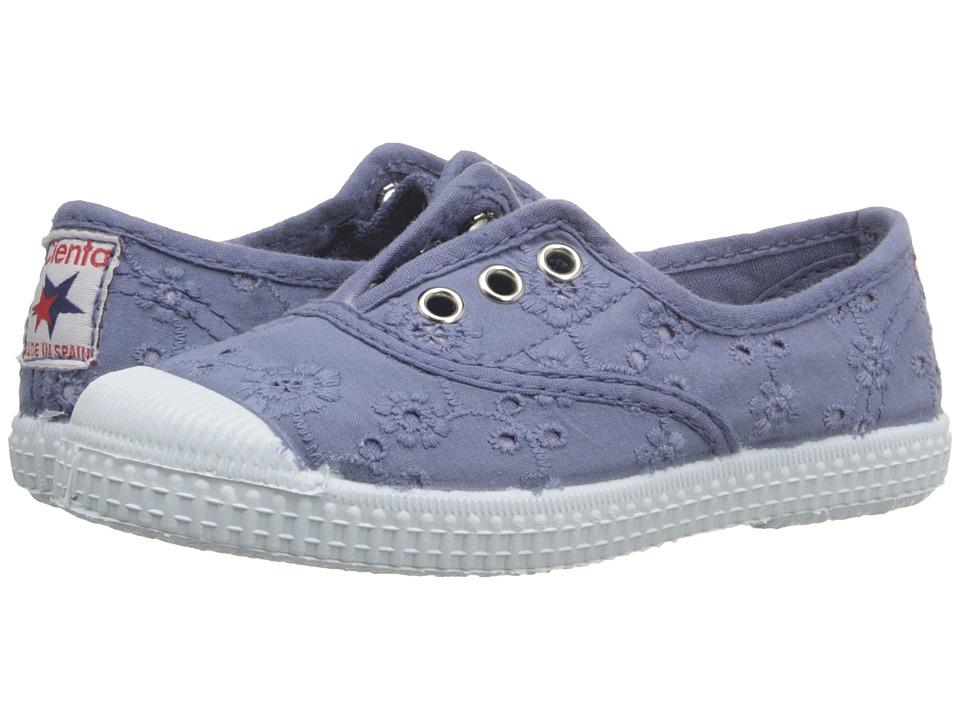 Cienta Kids Shoes - 70998 (Toddler/Little Kid/Big Kid) (Denim) Girl's Shoes
