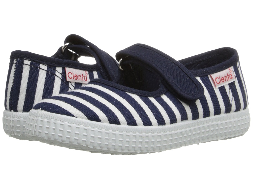 Cienta Kids Shoes - 56095 (Infant/Toddler/Little Kid/Big Kid) (Navy) Girl's Shoes