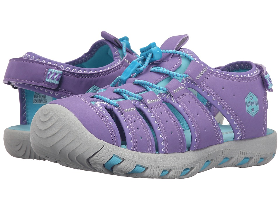 Khombu Kids - Cheeky (Little Kid/Big Kid) (Purple) Girl's Shoes