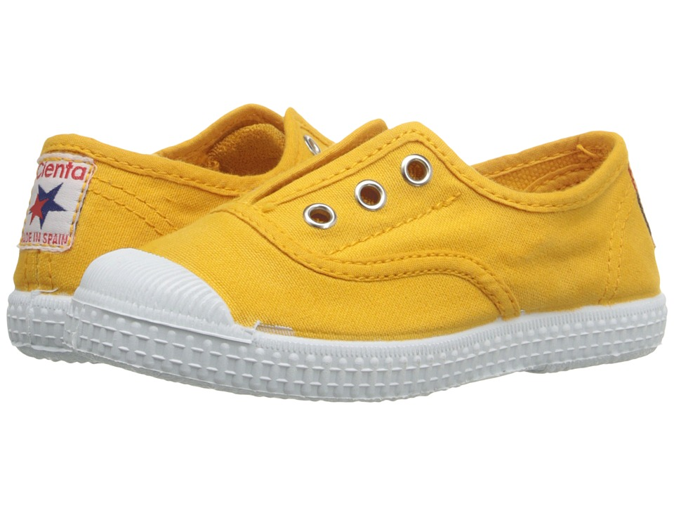 Cienta Kids Shoes - 70997 (Toddler/Little Kid/Big Kid) (Mustard) Kids Shoes