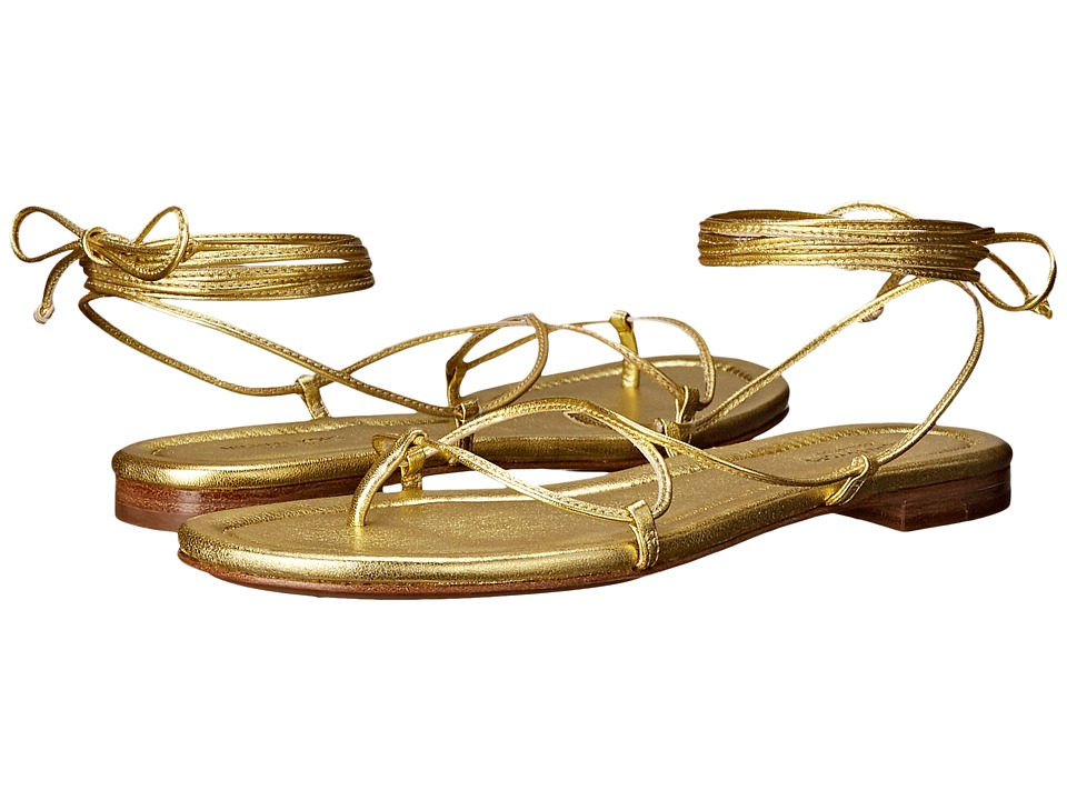 Michael Kors - Bradshaw (Pale Gold Metallic Nappa) Women's Sandals