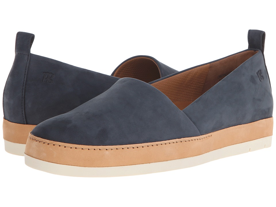 Paul Green - Waldon (Blue Leather) Women's Slip on Shoes