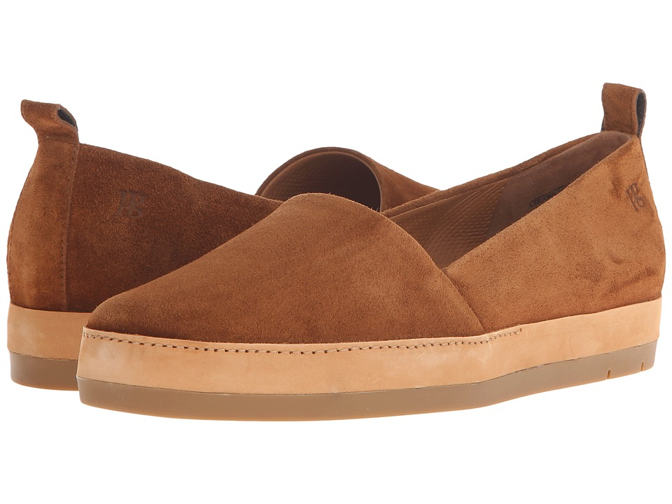 Paul Green - Waldon (Cognac Suede) Women's Slip on Shoes