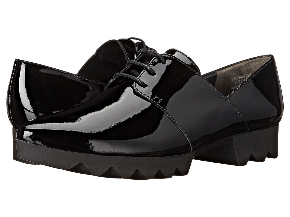 Paul Green - Henley (Black Patent) Women's Lace up casual Shoes