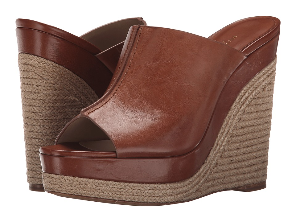 Michael Kors - Charlize (Chestnut Brushed Calf) Women's Wedge Shoes