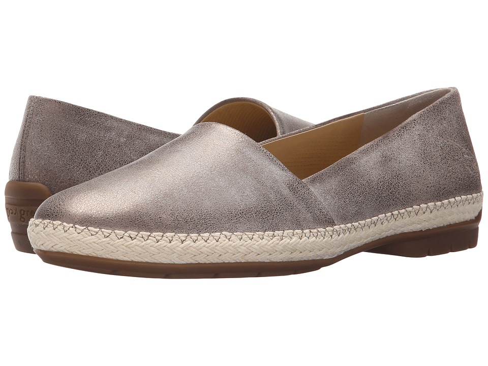 Paul Green - Heather (Brushed Smoke Metallic) Women's Slip on Shoes