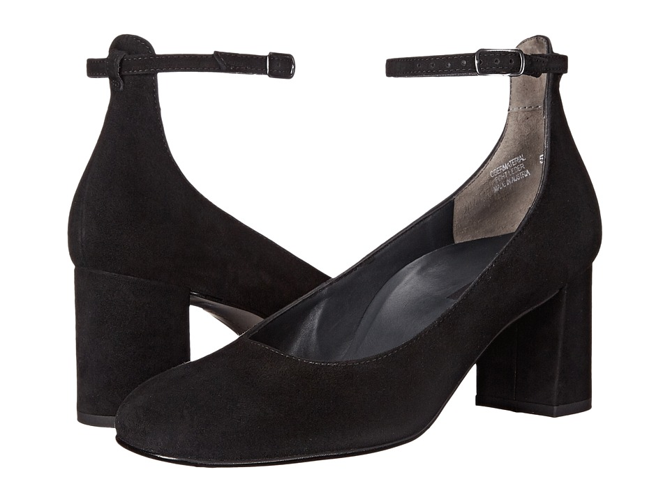 Paul Green - Holly Heel (Black Suede) High Heels
