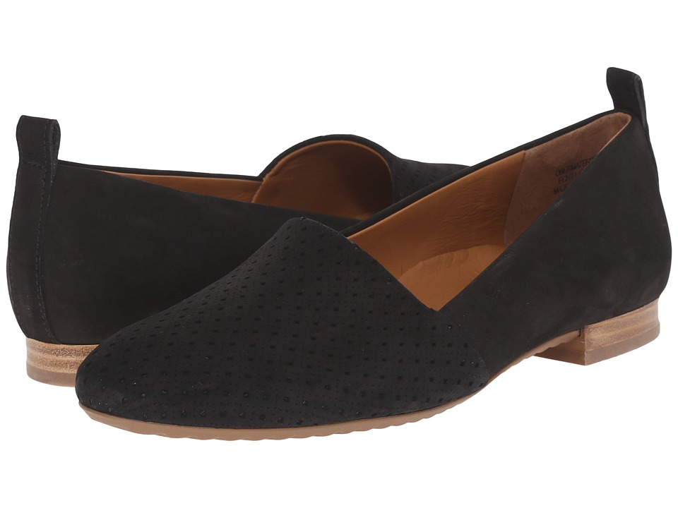 Paul Green - Anita Flat (Black Studded) Women's Flat Shoes