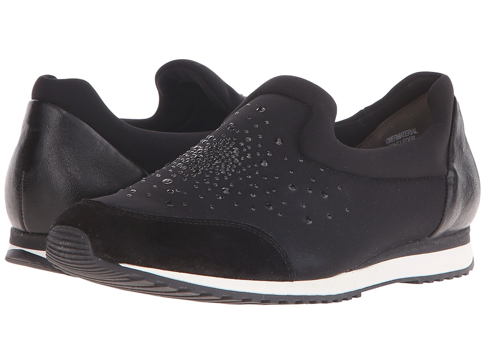 Paul Green - Wyman (Black Combo) Women's Slip on Shoes
