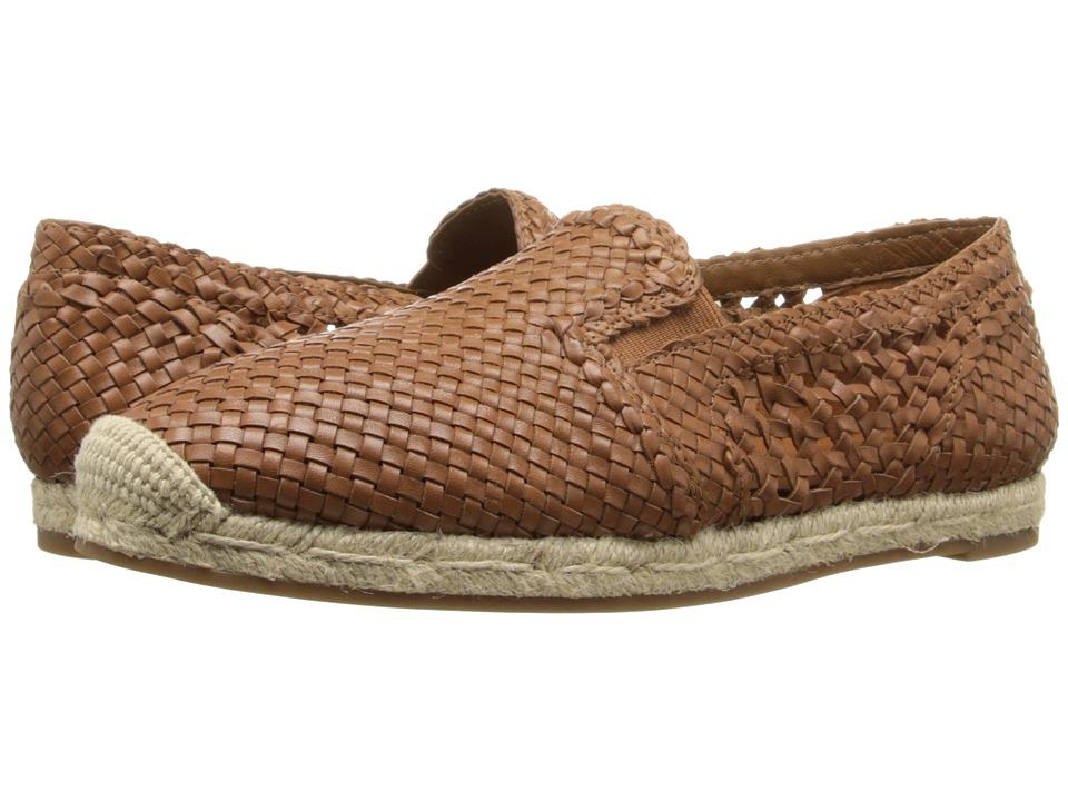 Michael Kors - Toni (Luggage Woven Smooth Calf) Women's Slip on Shoes