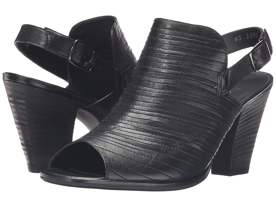 Paul Green Waverly (Black Leather) High Heels