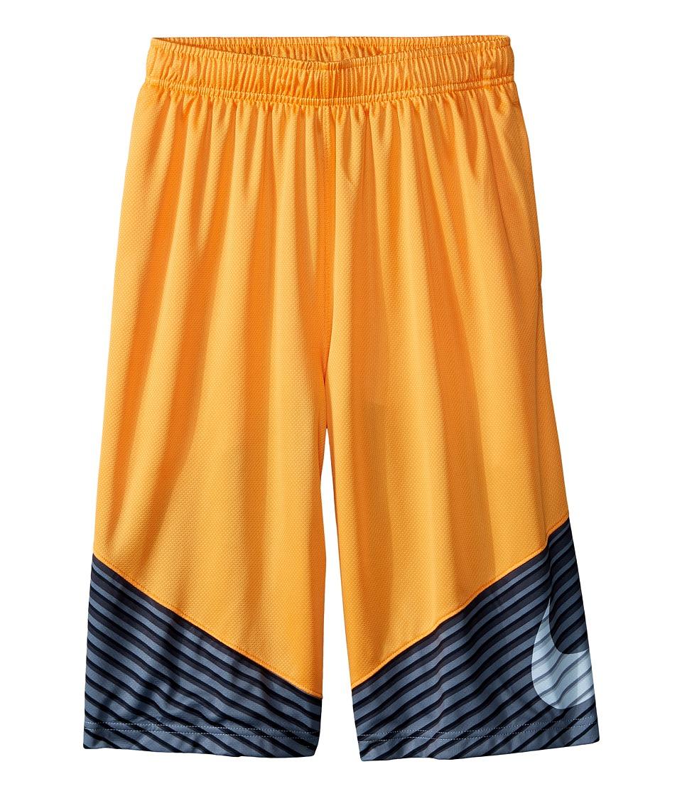 Nike Kids - Elite Performance Basketball Short (Little Kids/Big Kids) (Vivid Orange/Anthracite/Metallic Silver) Boy's Shorts