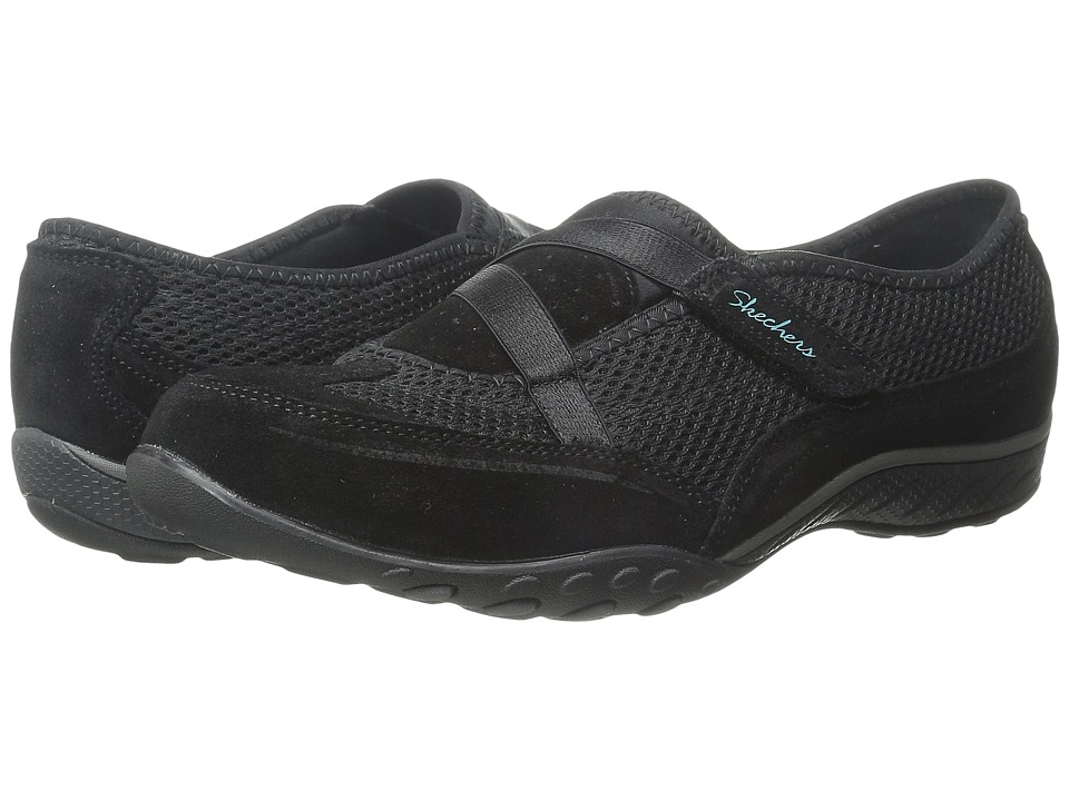 SKECHERS - Breathe Easy - Two of A Kind (Black) Women's Shoes