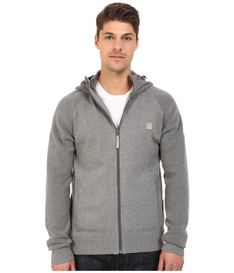 Bench - Turning Point Hoodie (Stormcloud Marl) Men's Sweater