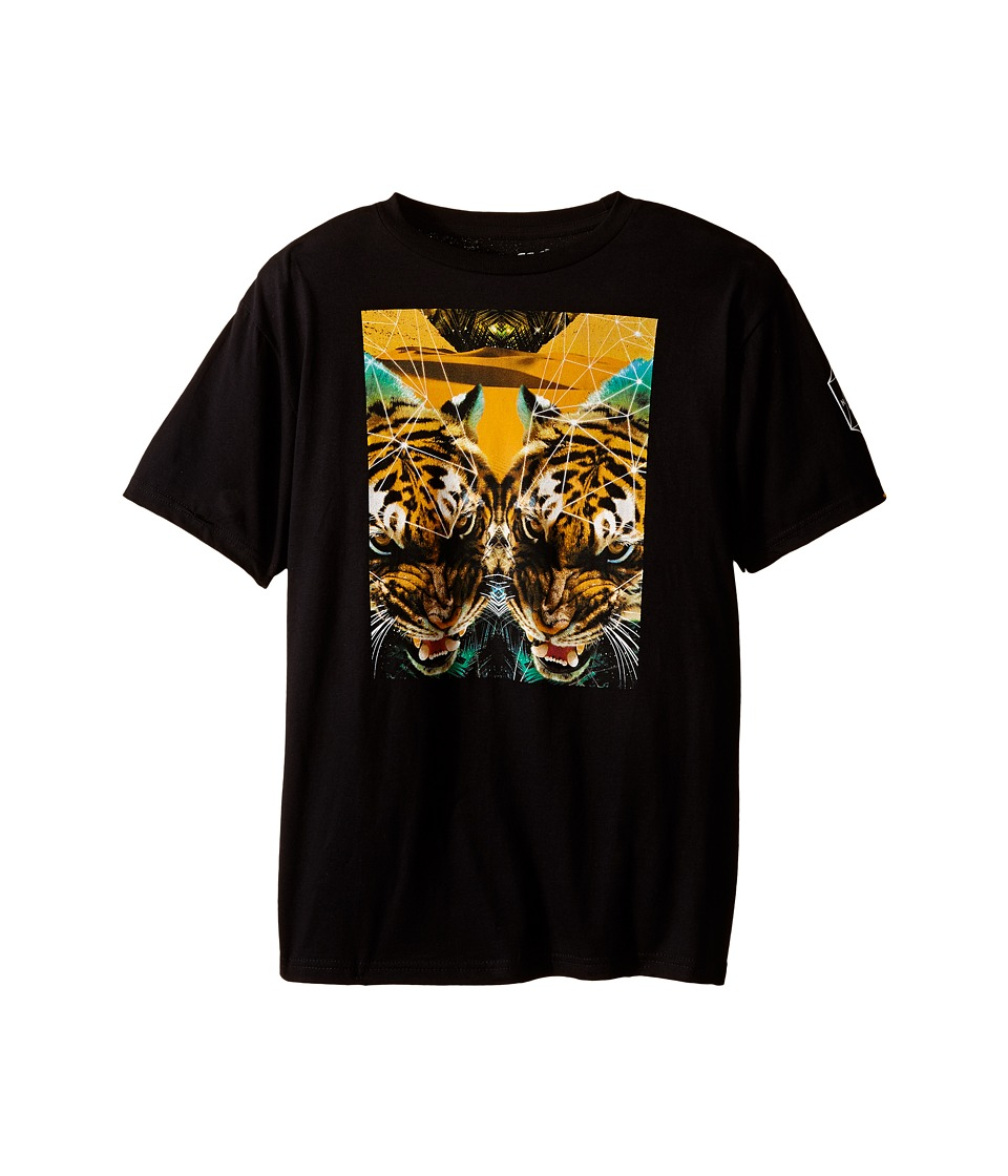 Neff Kids - Battlekat Tee (Big Kids) (Black) Boy's T Shirt