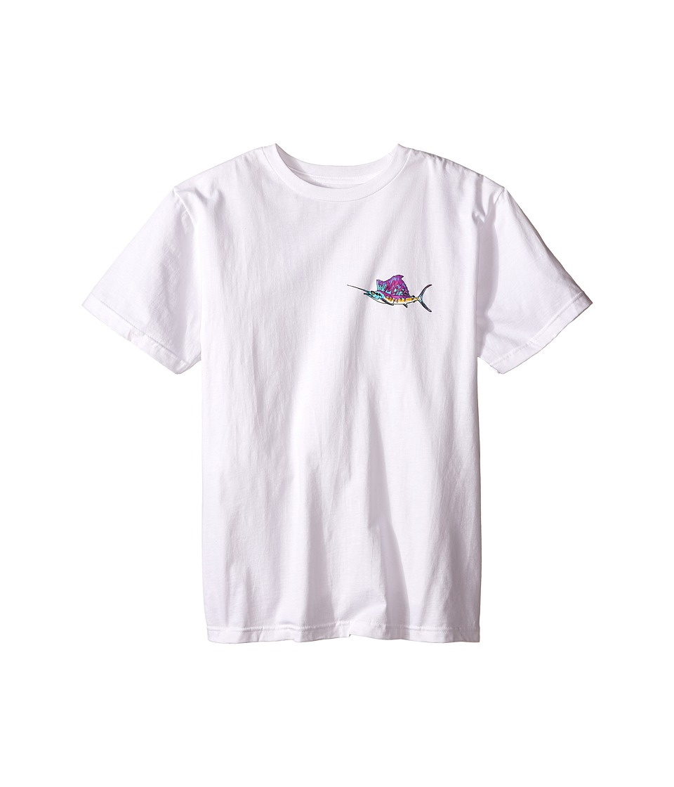 Neff Kids - Hooked Tee (Big Kids) (White) Boy