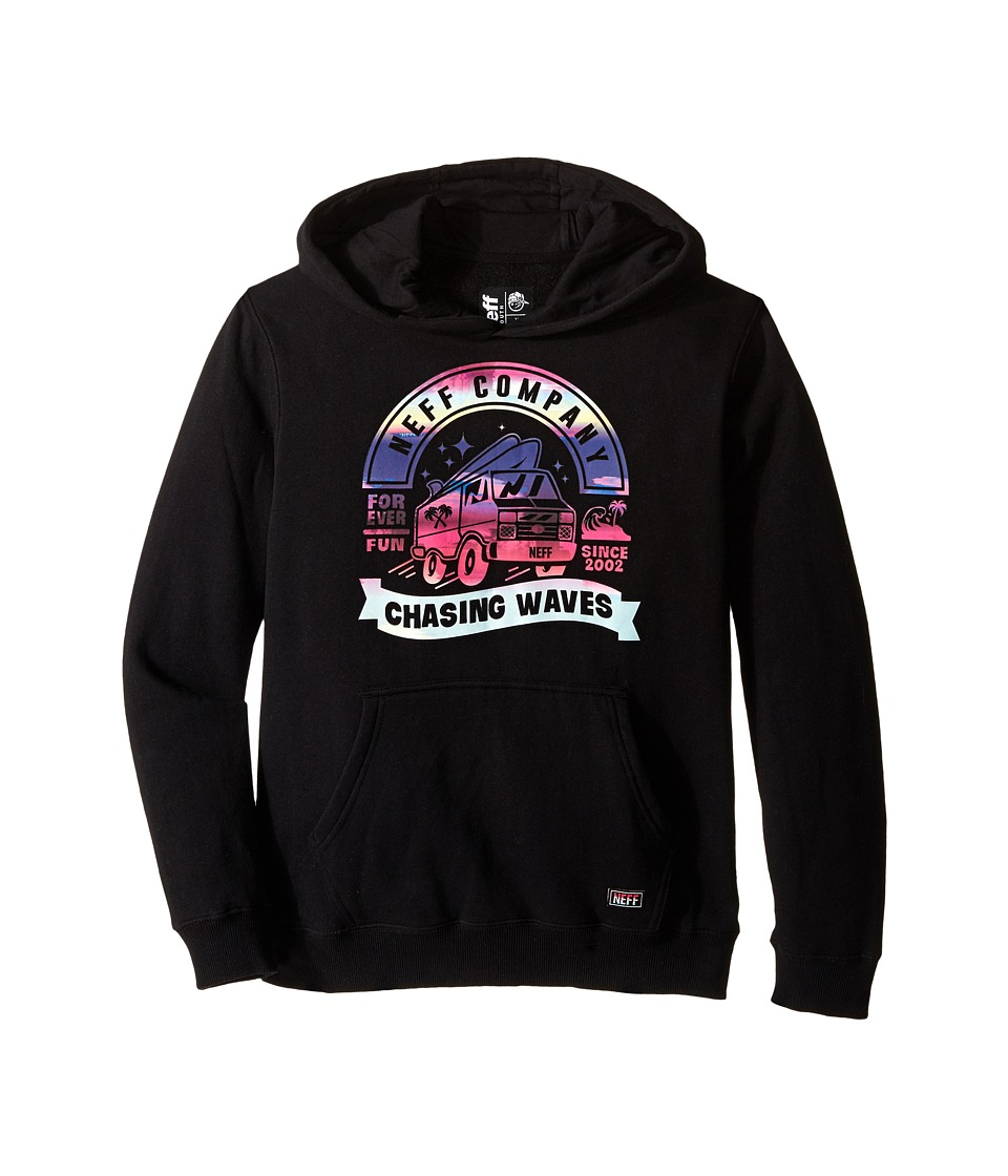 Neff Kids - Last Sunset Hoodie (Big Kids) (Black) Boy's Sweatshirt