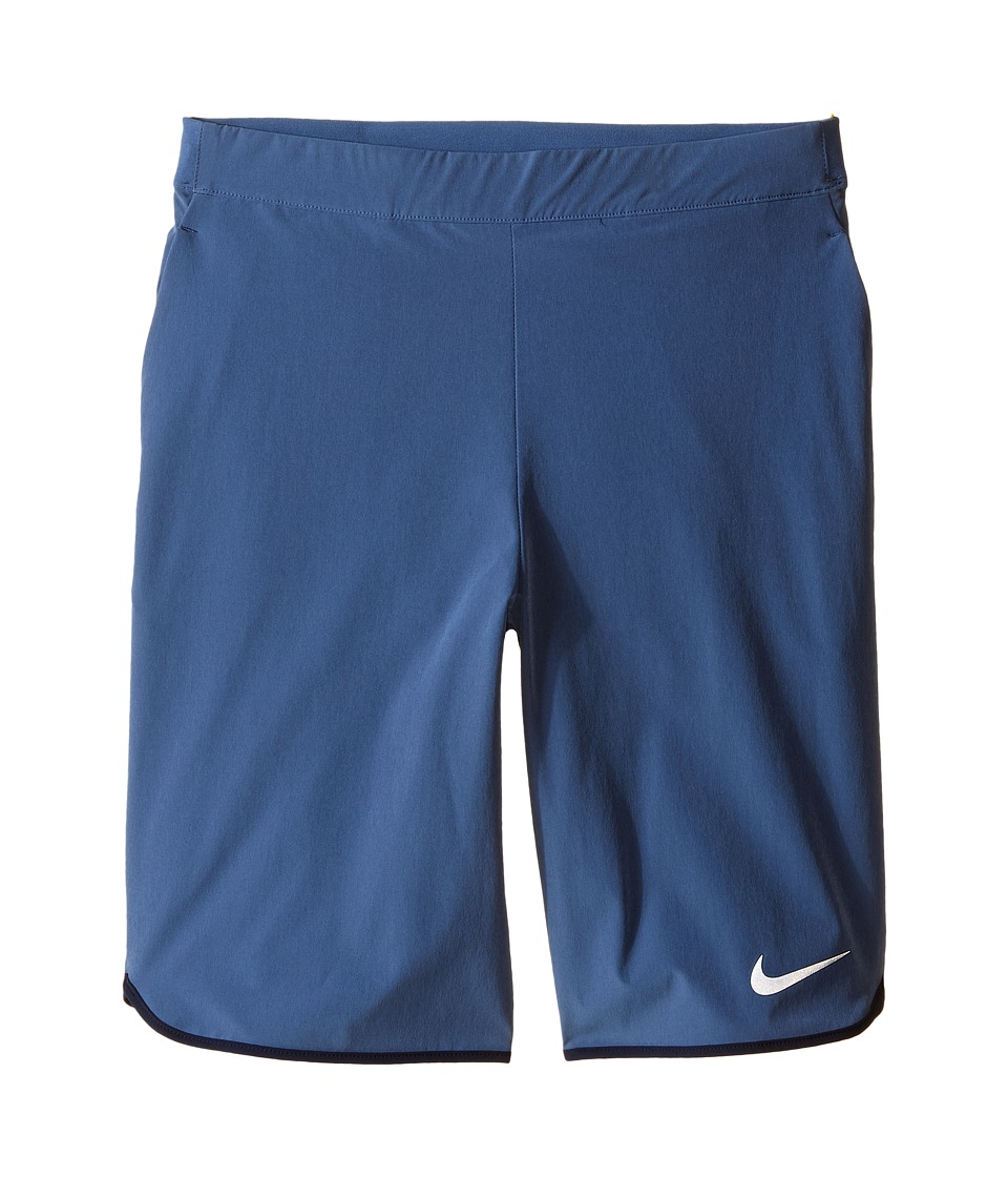 Nike Kids - Gladiator Tennis Short (Little Kids/Big Kids) (Ocean Fog/Obsidian/White) Boy's Shorts