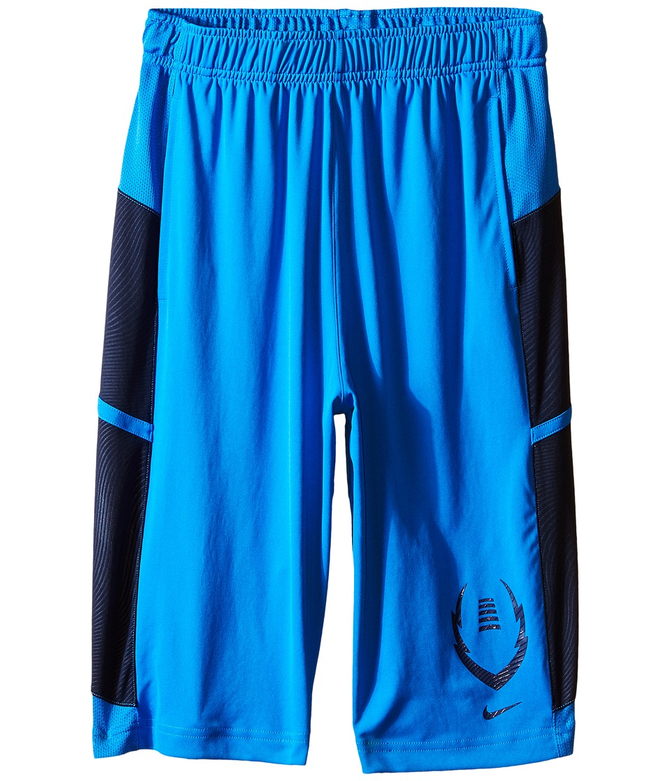 Nike Kids - Football Gear Up Shorts (Little Kids/Big Kids) (Light Photo Blue/Obsidian/Obsidian) Boy's Shorts