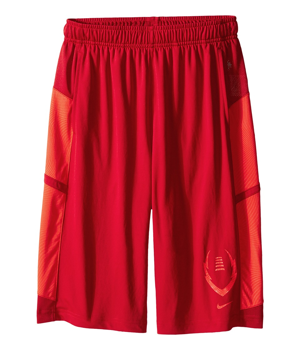 Nike Kids - Football Gear Up Shorts (Little Kids/Big Kids) (Gym Red/Light Crimson/Light Crimson) Boy's Shorts