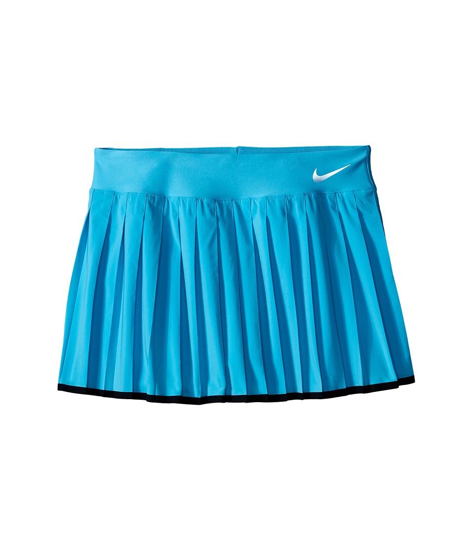 Nike Kids - Victory Skirt (Little Kids/Big Kids) (Omega Blue/Black/White) Girl's Skirt