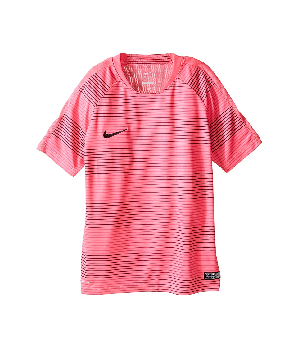 Nike Kids - Flash Graphic Soccer Shirt (Little Kids/Big Kids) (Hyper Pink/Hyper Pink/Black) Boy's Clothing