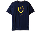 Football Gear Up Short Sleeve Fitted Top