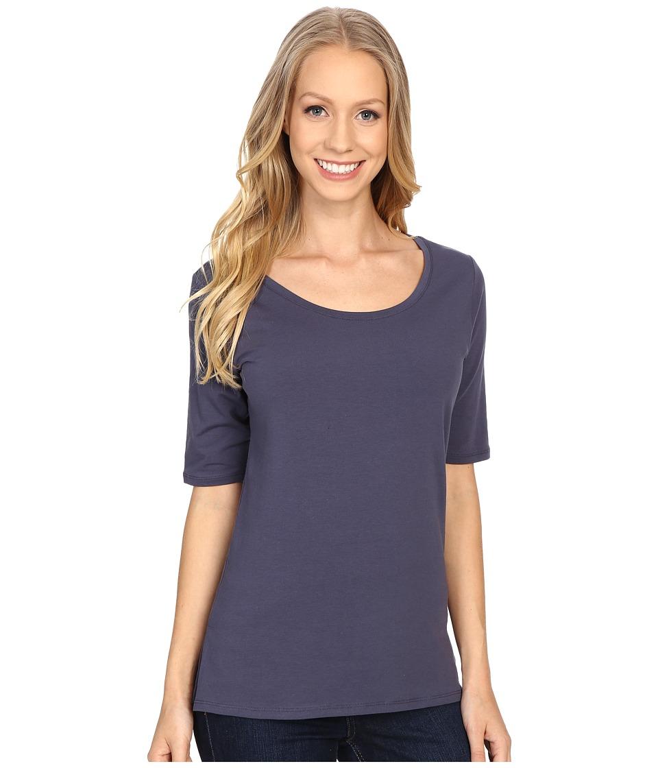 Pendleton - Sonia Tee (Indigo) Women's Short Sleeve Pullover