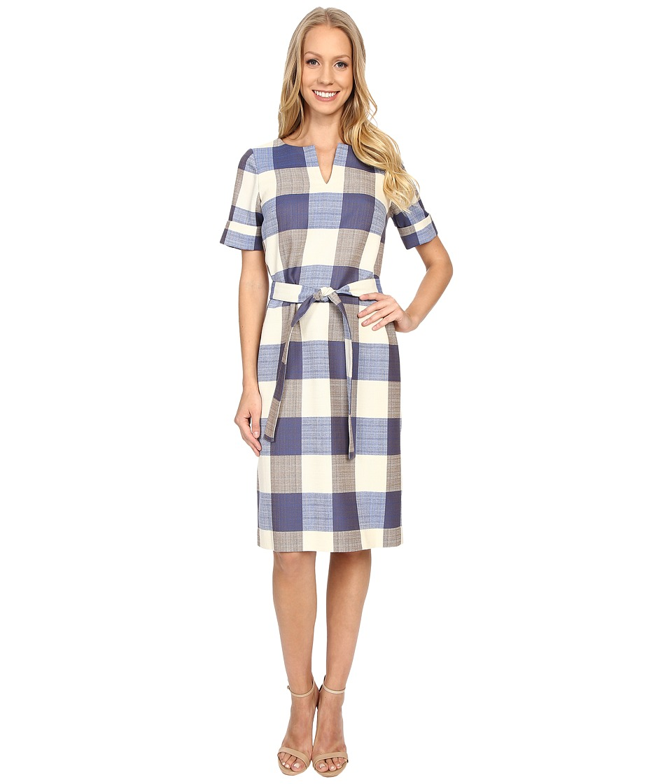 Pendleton - Alex Dress (Novelty Check Wool-Linen) Women's Dress