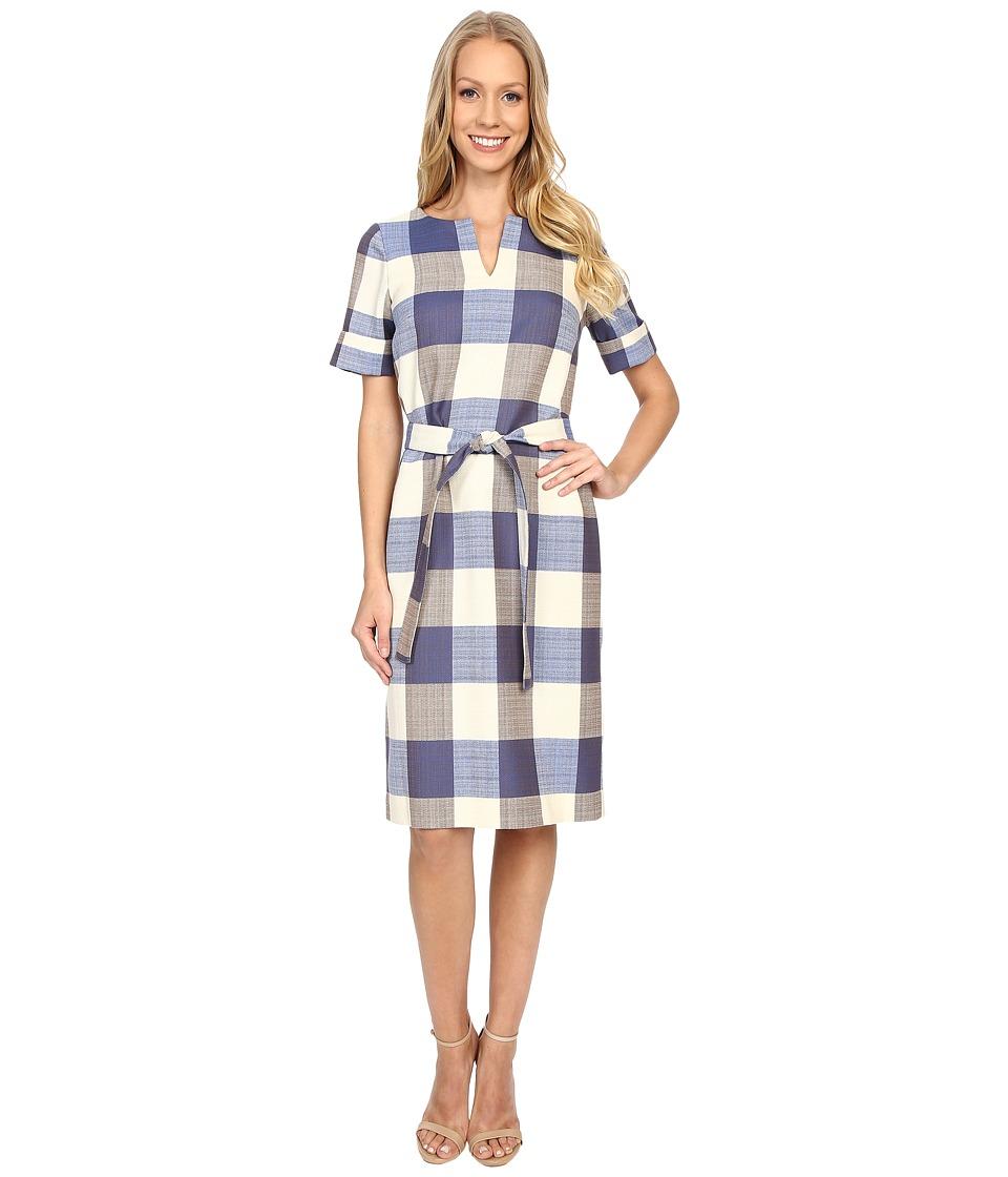 Pendleton Alex Dress (Novelty Check Wool-Linen) Women