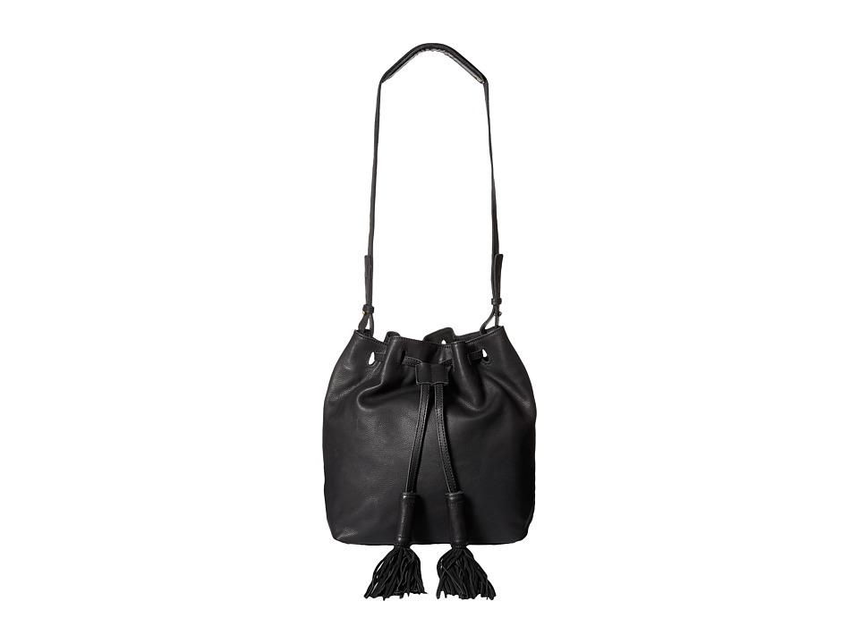 Lucky Brand - Jordan Drawstring (Black) Drawstring Handbags