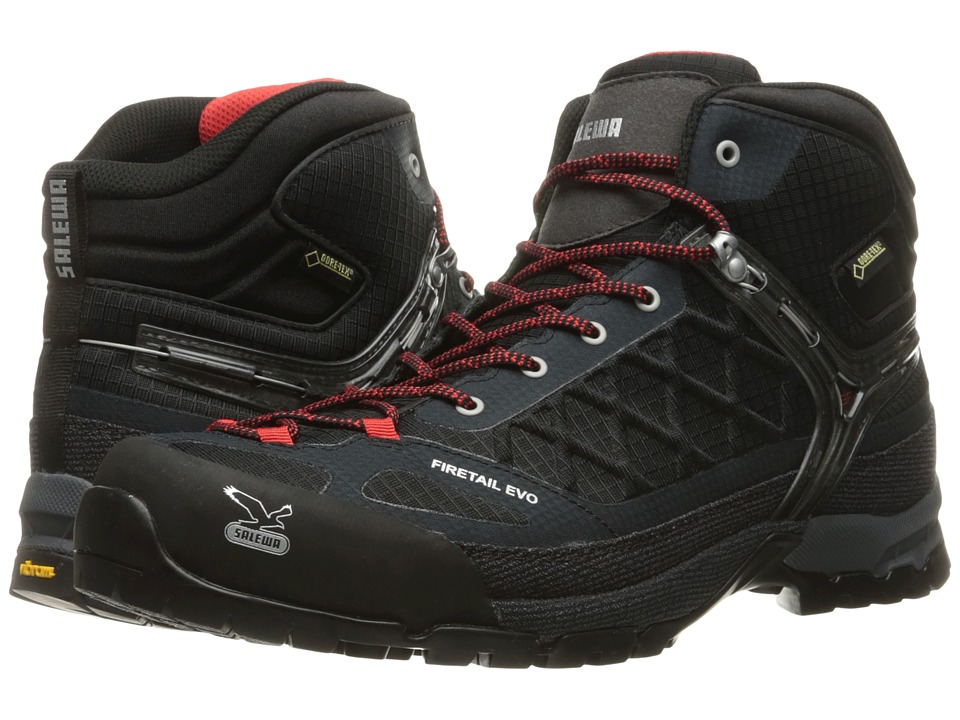 SALEWA - Firetail Evo Mid GTX (Black) Men's Boots