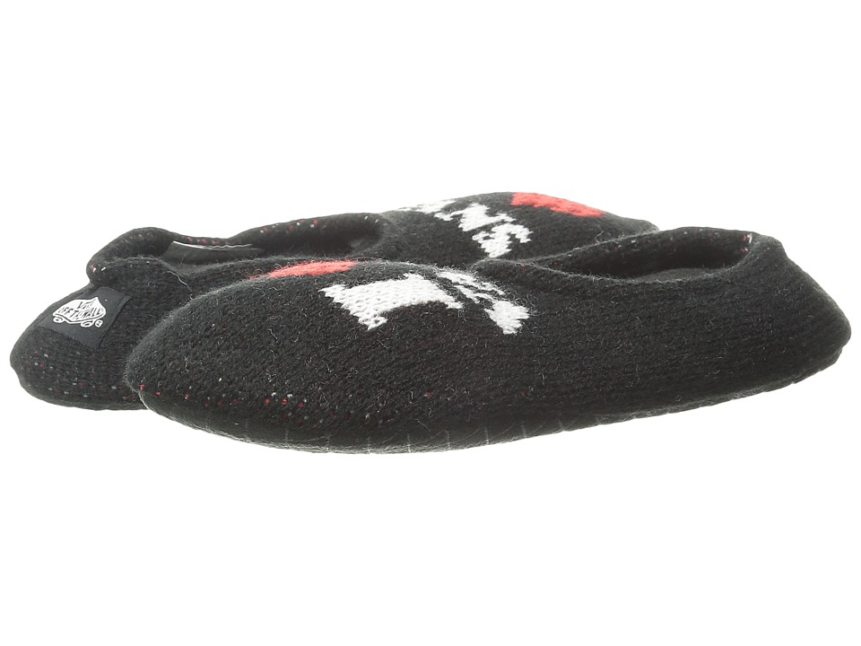 Vans - Slippin Slippers (Black/White) Women's Slippers