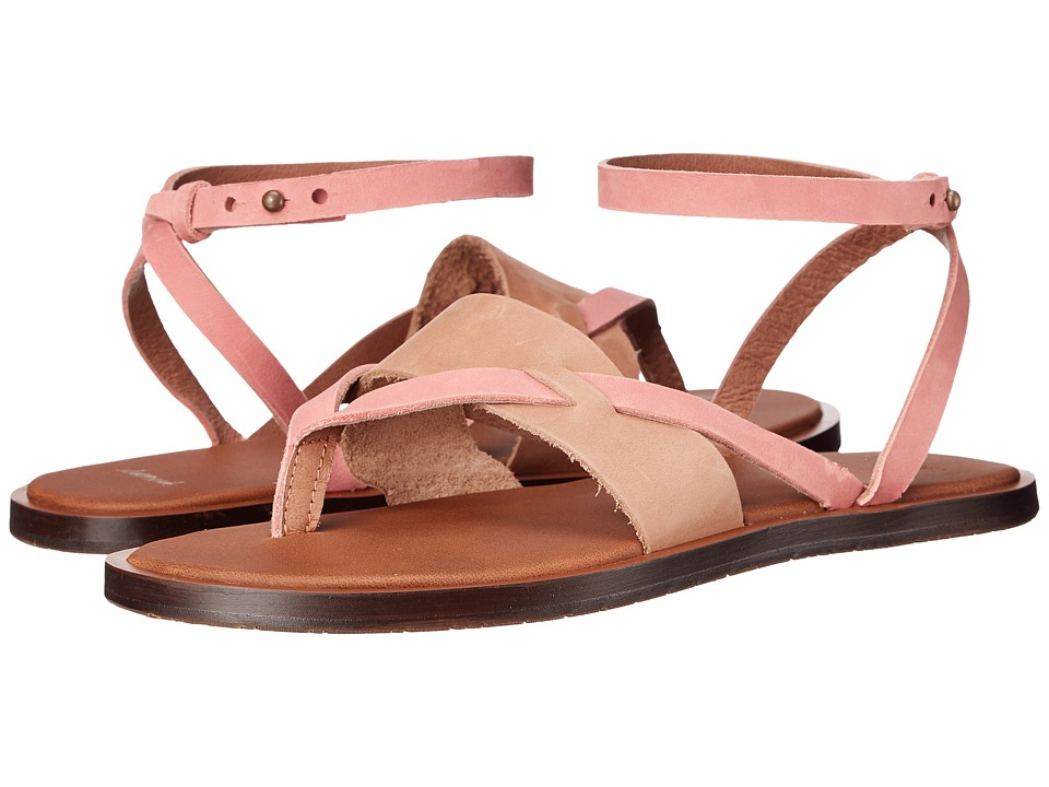 Sanuk - Yoga Serena (Tobacco/Rose) Women's Sandals