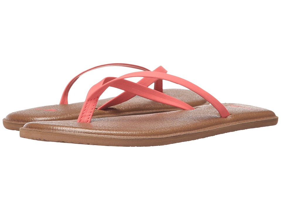 Sanuk - Yoga Bliss (Spiced Coral) Women's Sandals