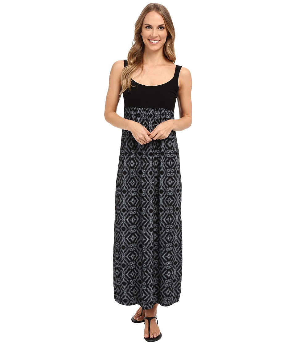 Fresh Produce - Shibori Malibu Maxi Dress (Black) Women