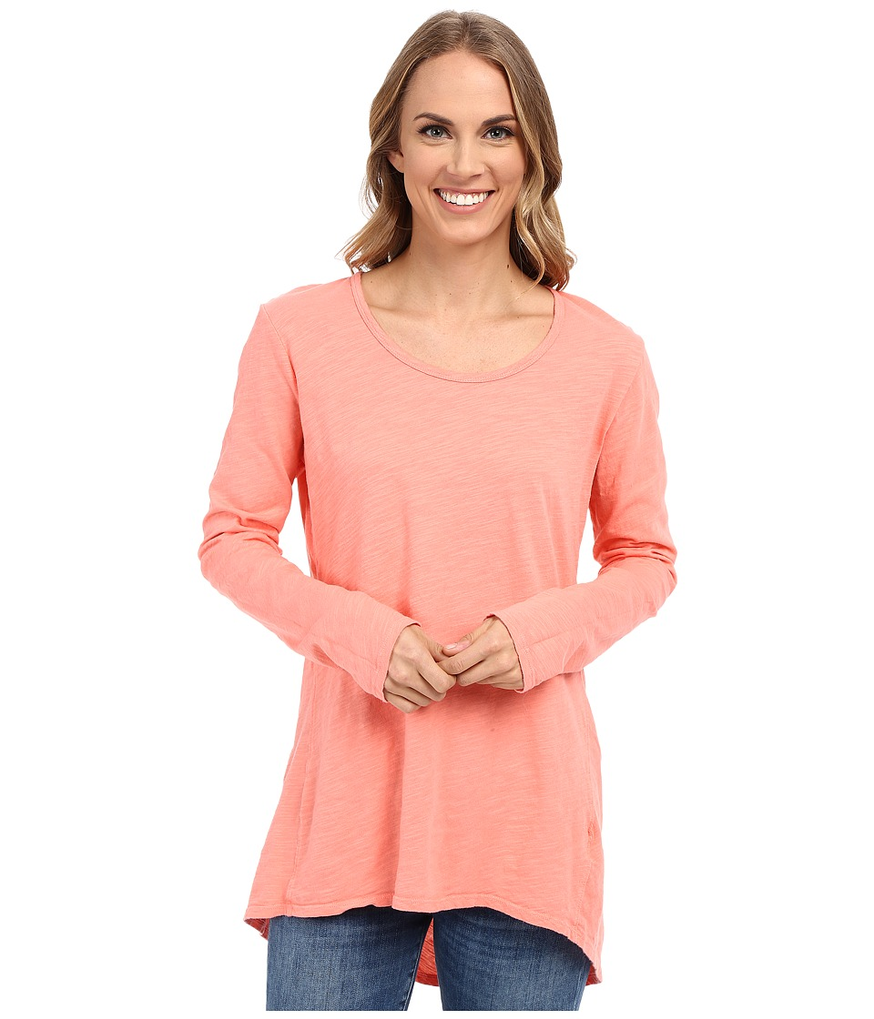 Fresh Produce - Long Sleeve Luna Top (Melon Sherbert) Women's Clothing
