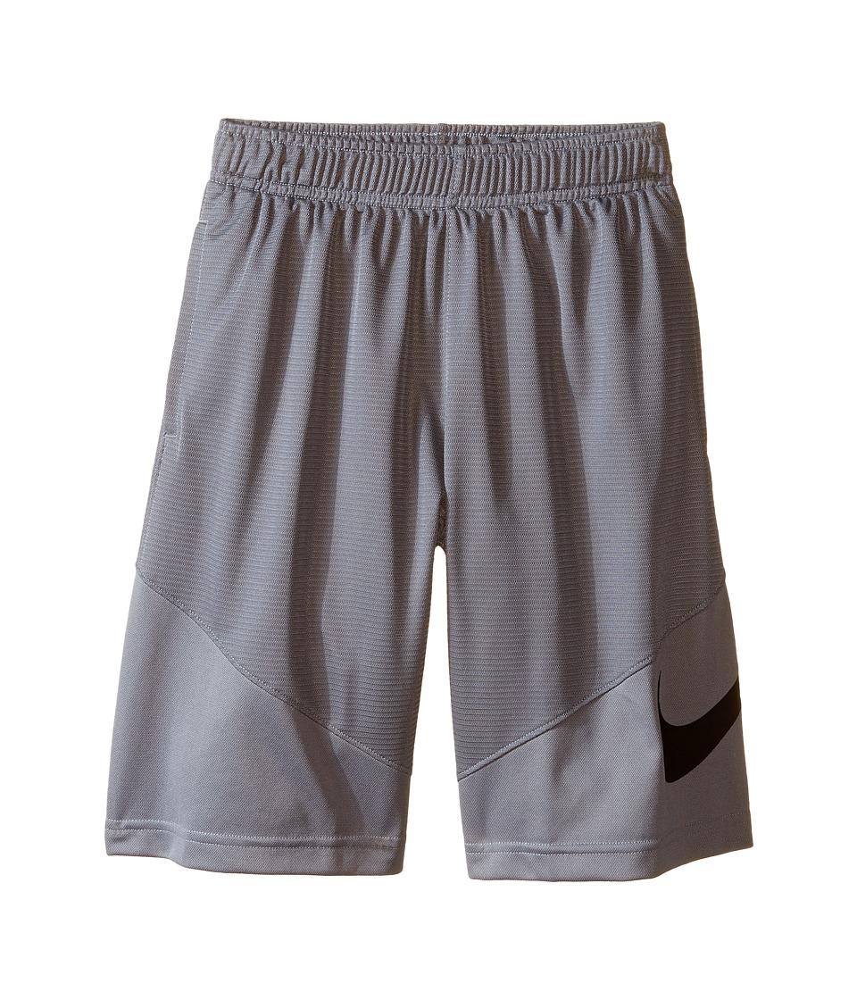 Nike Kids - HBR Short (Little Kids/Big Kids) (Cool Grey/Black) Boy's Shorts