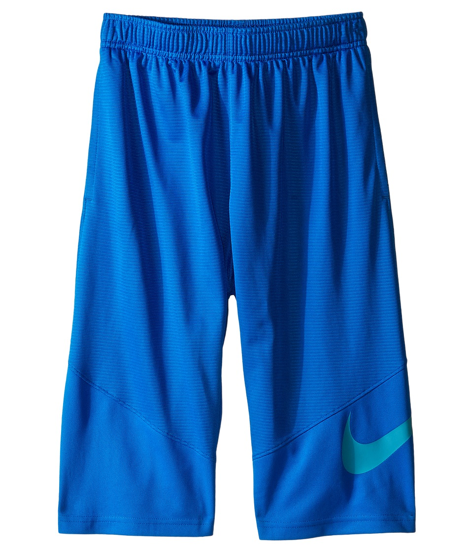 Nike Kids - HBR Short (Little Kids/Big Kids) (Photo Blue/Omega Blue) Boy's Shorts